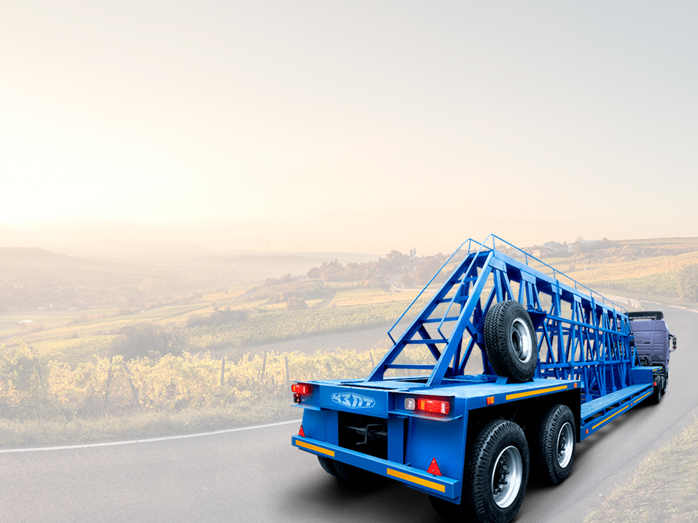Website building for trailer equipment factory (