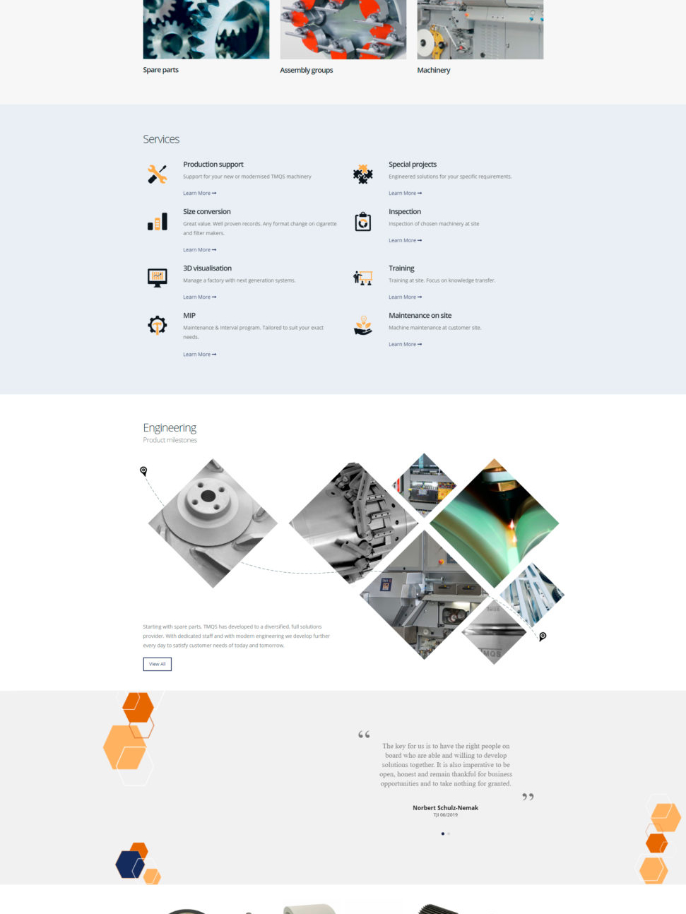 Разработка сайта на WordPress - tmqs.de